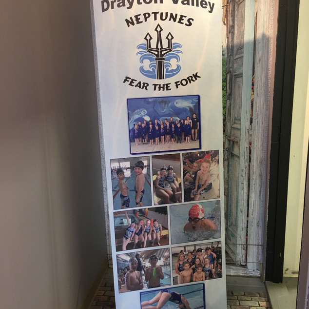 Neptunes Retractable Banner