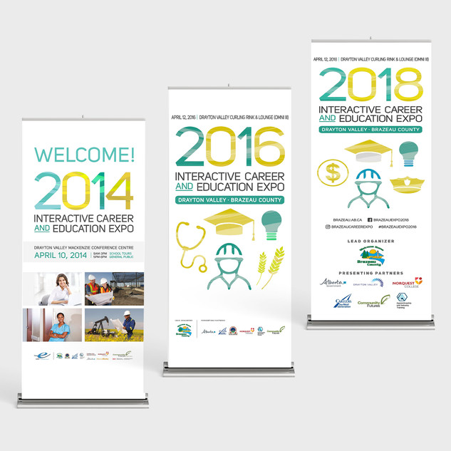 Brazeau Career Fair Retractable Banners