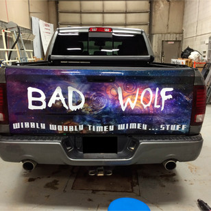 Doctor Who Tailgate Wrap