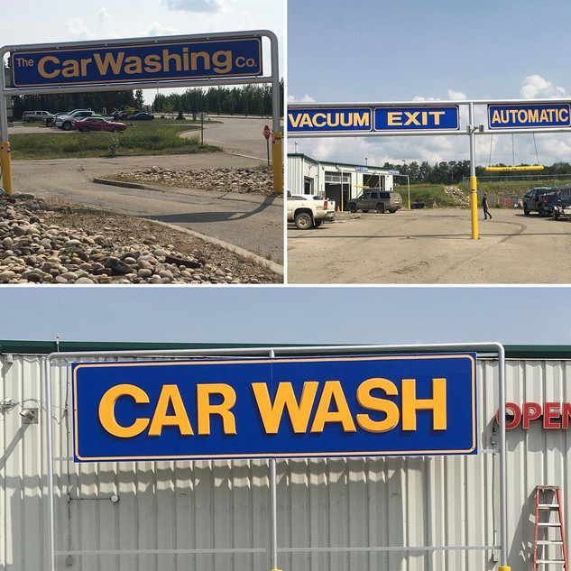Car Wash Signs