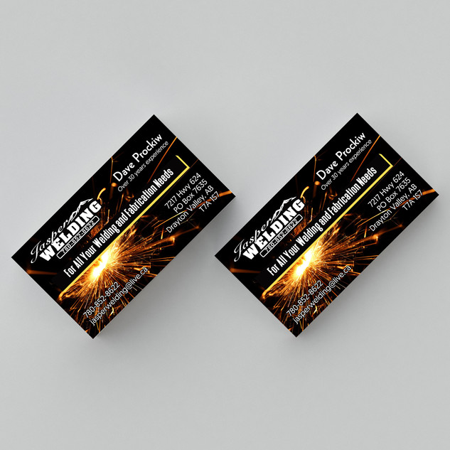 Jasper Welding Business Cards