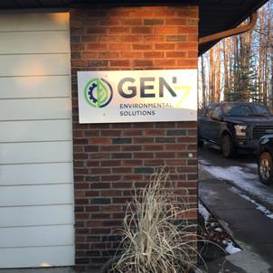Reflective Gen7 sign