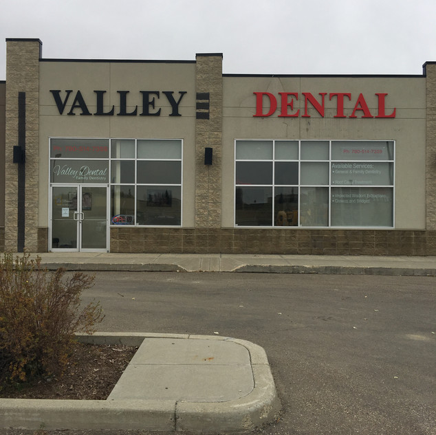 Valley Dental Gemini Letters