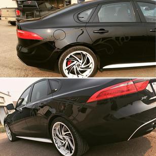 Custom Jaguar Decalling