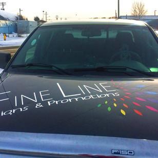 Fine Line Truck Decals