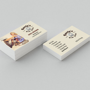 Rusty's Rim Job Business Cards
