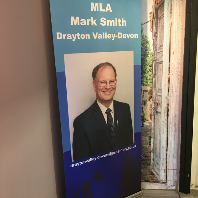 MLA Retractable Banner