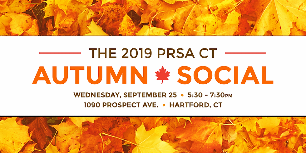 PRSA CT Autumn Social & Membership Meeting
