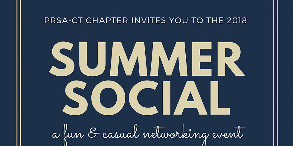 PRSA-CT Summer Social