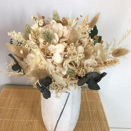 Constance - Bouquet sec et stabilisé crème