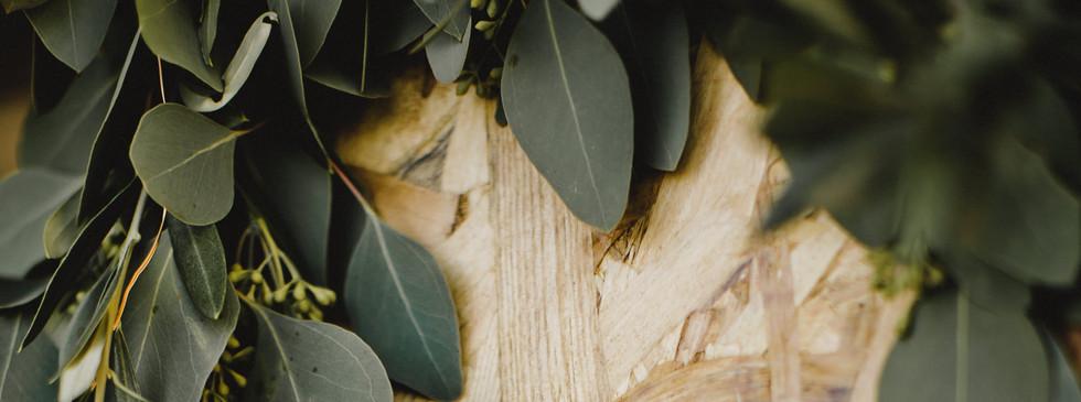 Guirlande eucalyptus populus