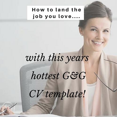 Killer CV Template