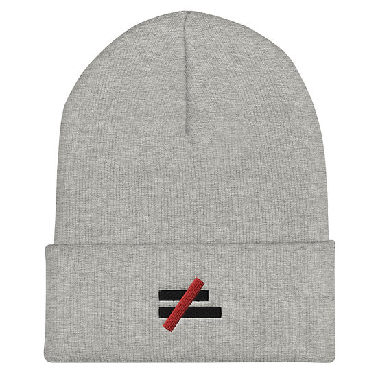 Inequality is Unacceptable Logo Beanie