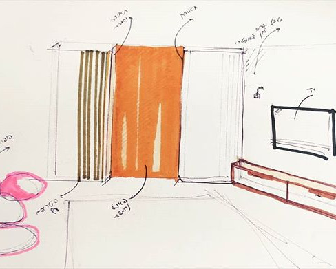 תכנון פנים בית פרטי . . . . . . . . #ins