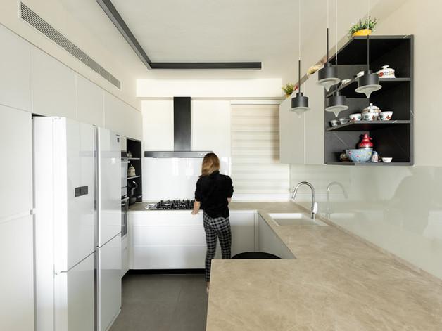 עיצוב ותכנון מלא פנטהאוז במרכז //Total design// עבור זוג //2020