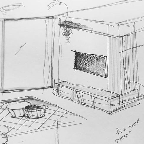 דירה חדשה ברעננה , צבעונית ומוארת עבור מ