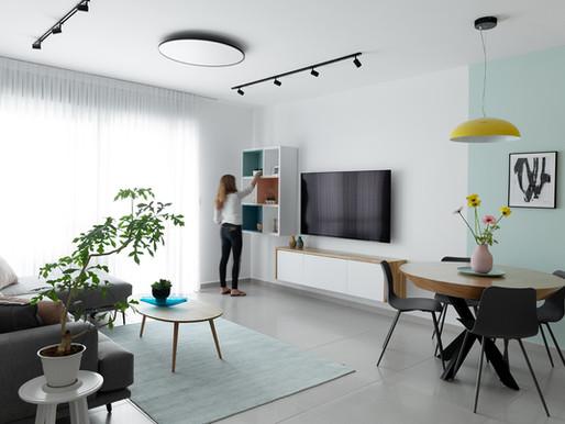 5 אתגרים עיצוביים בדירות שכורות-והדרך להתגבר עליהם