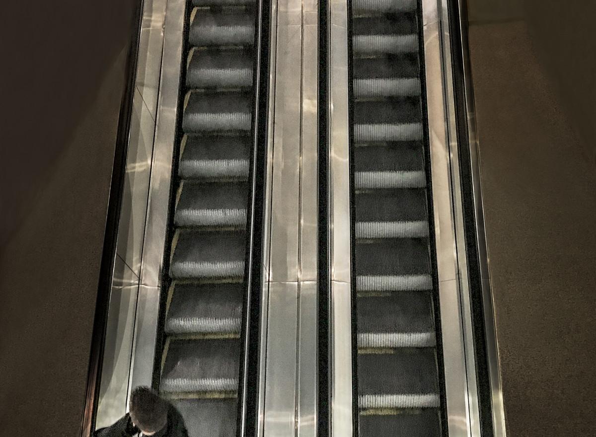 Escalator Man