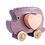 Thumbnail: Hedgehog Push Toy with Heart Block