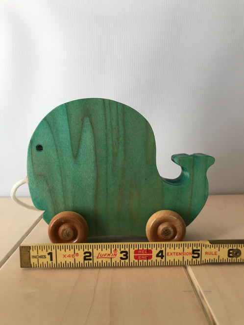 Whale Pull Toy