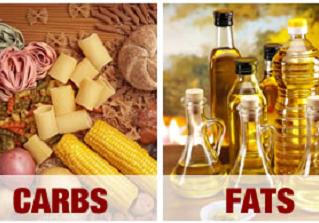Carboidratos x Gorduras no emagrecimento