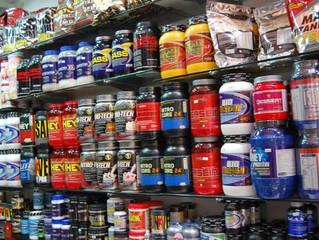Suplementos para aumento de massa muscular