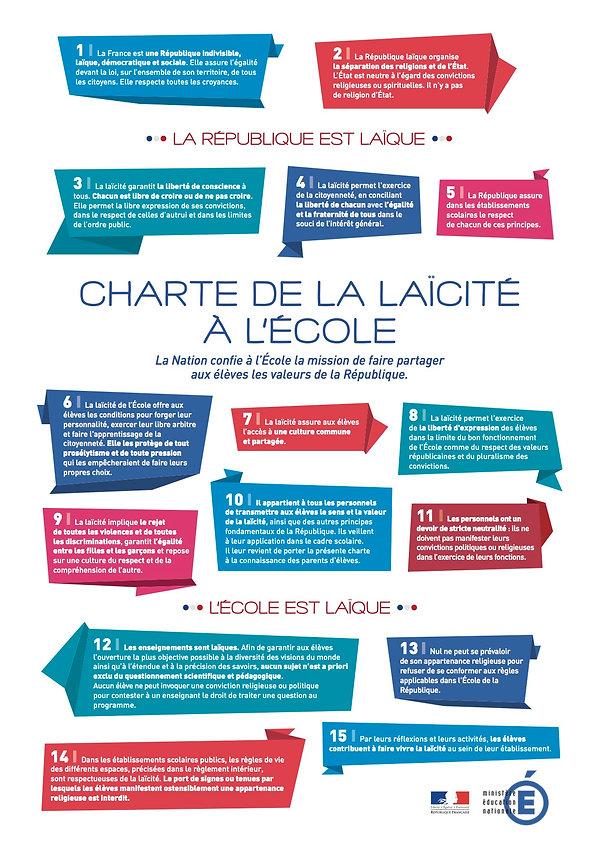 Charte de LAICITE St Vincent la Commanderie