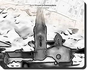 St Vincent la Commanderie cadastre