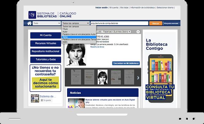 Catálogo Online USIL