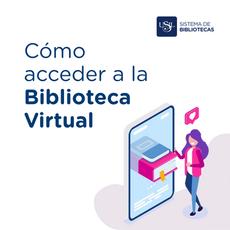 Cómo acceder a la Biblioteca Virtual