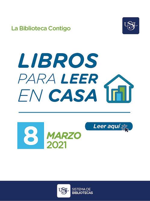 Libros para leer en casa (Nro. 8, marzo 2021)