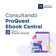 Consultando y descargando libros en PROQUEST EBOOK CENTRAL