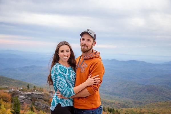 couple at rough ridge