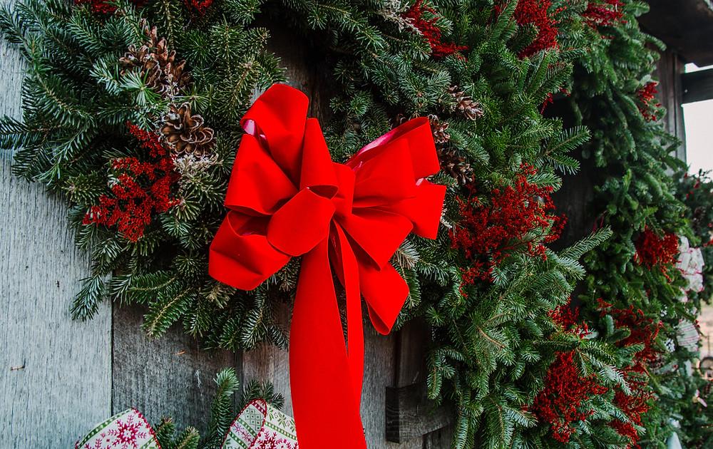 Real Christmas Wreath