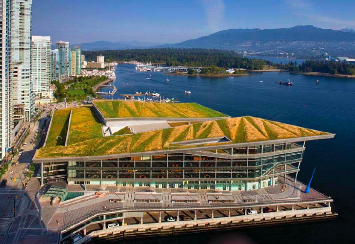 Vancouver Convention Center green roof