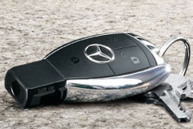 ключ рыбка мерседес, запись ключей мерседес, чип ключ мерседес, smart key mercedes,