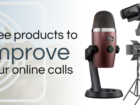 3 Products To Improve Your Online Calls