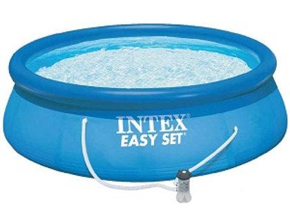28132 Бассейн Easy Set, 366х76см, 5621л, фильтр-насос 2006л/ч