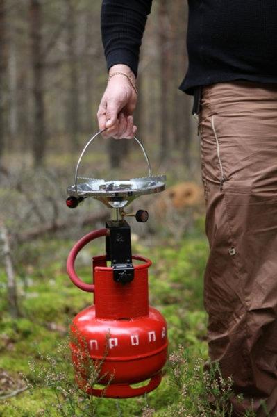 Газовая горелка 2 кВт с пьезоподжигом