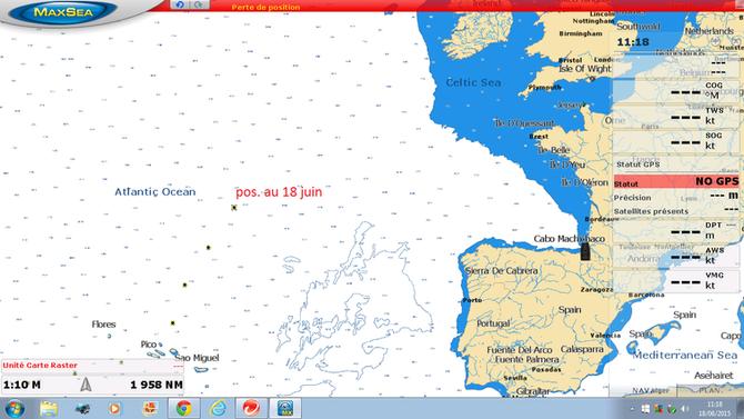 A 920 milles de Cherbourg