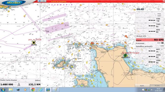 Ah...la navigation en Manche !