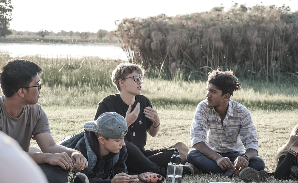 Jess (South Africa) shares her thoughts on traditional schooling along the banks of the Okavango Delta.