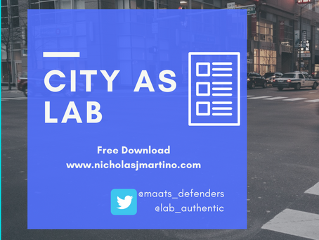 City as Lab: Course Entry Experience
