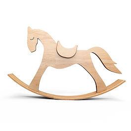 Деревянная лошадка