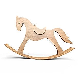 Caballito de madera psicoterapia Infantil