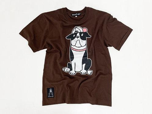 2021Tシャツ-ブラウン