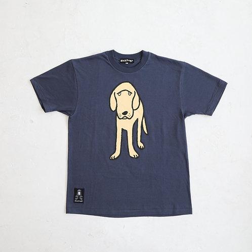 DOG Tシャツ グレイッシュブルー