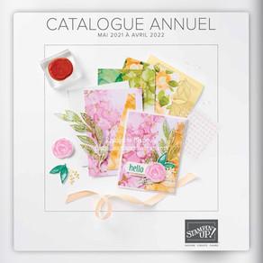 Sortie officielle du catalogue annuel Stampin'Up! 2021
