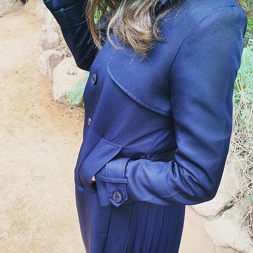 Manteau Litshi Bleu