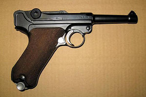 Mauser P08 First World War.